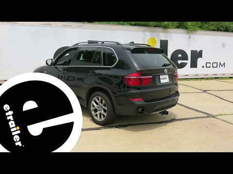 trailer wiring harness installation - 2013 bmw x5 - etrailer com - youtube