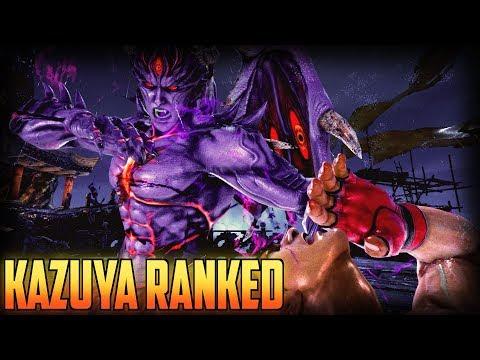 Tekken 7 Kazuya Ranked Macro Versus Ewgfgod Youtube