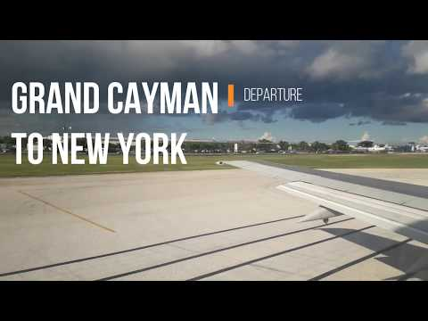 Our Flight Videos | Grand Cayman to New York