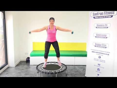 Bounce Fit Circuit Workout with Weights