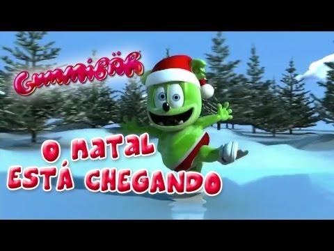 O NATAL ESTÁ CHEGANDO Christmas Is Coming BRAZILIAN Ursinho Gummy Gummibär Gummy Bear