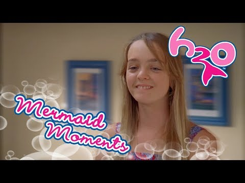 Sister fight between Cleo and Kim | Mermaid Moments | H2O - Just Add Water