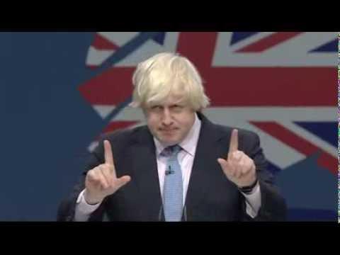 Boris Johnson speaks at #cpc13