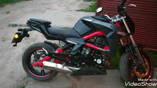 CF MOTO 650 NK Миниобзор мотоцикла.