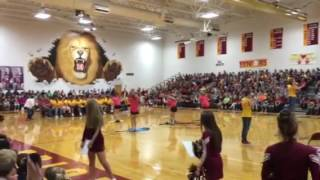 New Brighton Area School District Pep Assembly NB Band 10-7-16