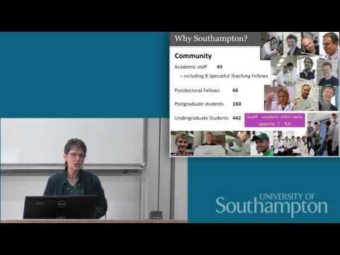 Chemistry talk, Open Day 2015 - University of Southampton