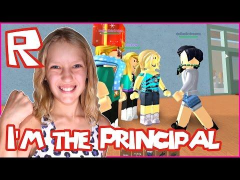 Yes, Finally I'm The Principal / Roblox Highschool