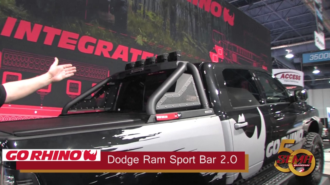 2017 Silverado Tonneau Cover >> Go Rhino Dodge Ram Sport Bar 2 - YouTube