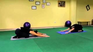 Оксисайз упражнение растяжка спины, отдых . Видео уроки онлайн.