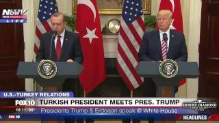 fnn president trump and turkish president erdogan deliver joint statement at white house full