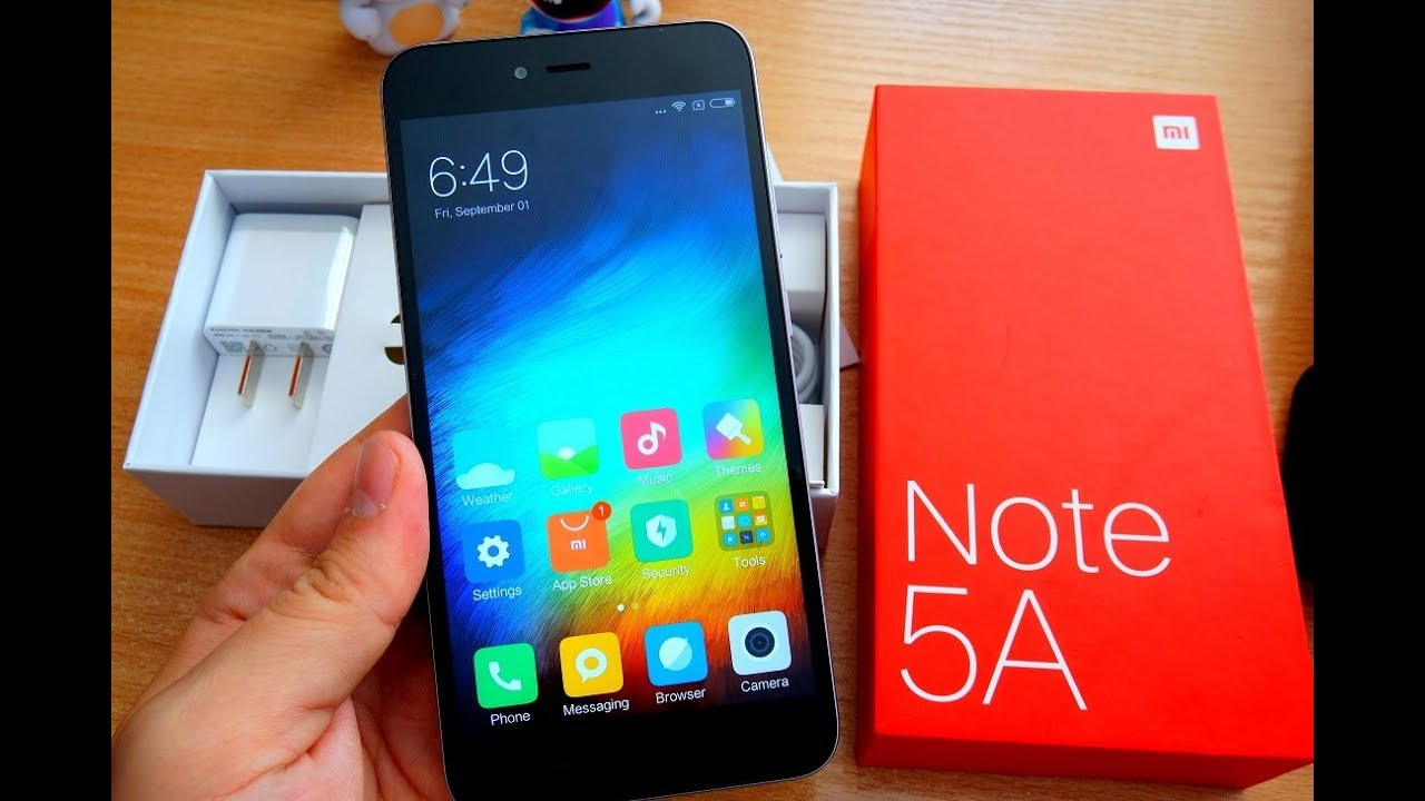 Xiaomi Redmi Note 5A Unboxing and How To Install Google Services