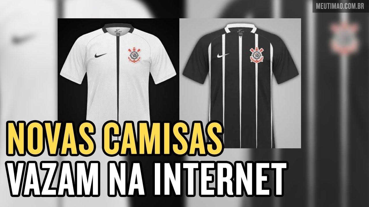 Novas camisas do Corinthians vazam na internet. Meu Timão f69b40b0fbb45