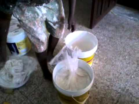 How To Open 20 Kgs Asian Paints Acrylic Wall Putty