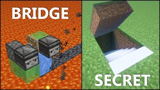 Minecraft: 10 Simple Redstone Builds! #2
