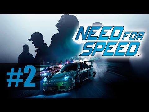Прохождение Need For Speed [2015] на русском - часть 2 - Первые гонки комом