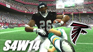STILL HAVE HOPE - MADDEN 2007 PS2 - FALCONS FRANCHISE - S4W14