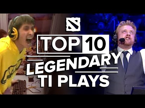 The Top 10 Legendary Plays from The International
