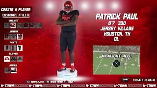 Houston Football: 2019 NSD: Patrick Paul