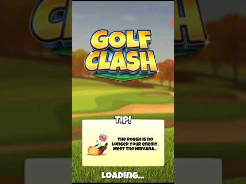Golf clash Tour 10 with intermediate level clubs