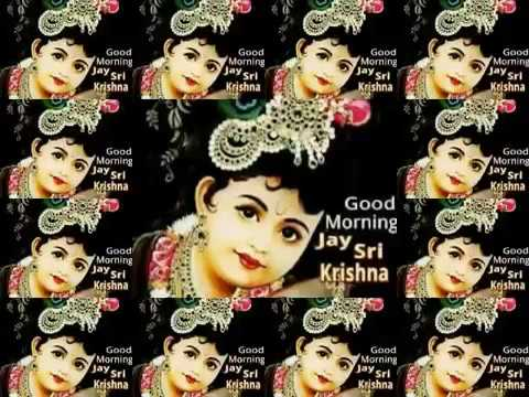 Good Morning Gif Lord Sri Krishna Youtube