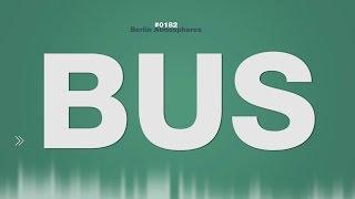 Bus SOUND EFFECT Linienbus Berlin Interior Ambience autocarro de carreira