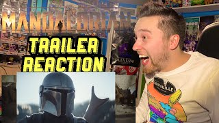 The Mandalorian | Official Trailer Reaction and Review