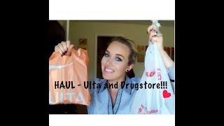 HAUL - Ulta and Drugstore {Part 1} Thumbnail