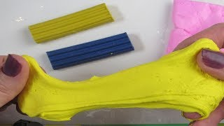 как сделать лизуна только из пластилина
