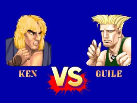 Arcade Street Fighter 2 Champion Edition Ken combo damage
