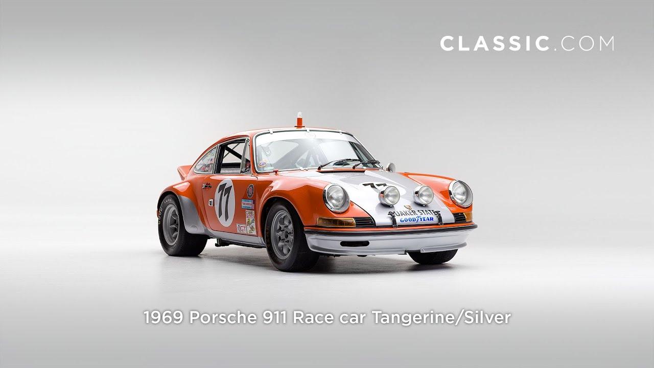 1969 Porsche 911 Race Car Tangerine Fhd Youtube