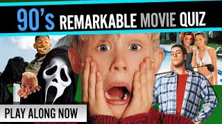 90s REMARKABLE MOVIES QUIZ ✪ you need to be an expert on years