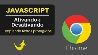 Como ATIVAR ou DESATIVAR o JavaScript no Google Chrome
