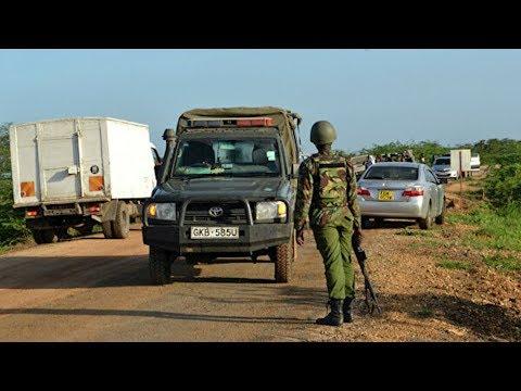 Опубликованы кадры нападения на американскую базу в Кении