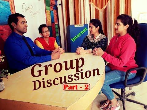 Group discussion (Part - 2) on INTERNET advantages and disadvantages | Group Discussion | GD |