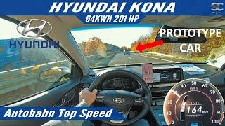 Hyundai Kona Electric 201 HP (2020) - Autobahn Top Speed Drive
