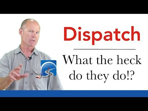 Truck Drivers' Dispatchers | Truck Driving School