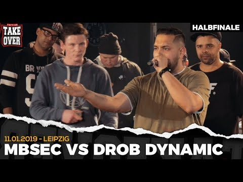 Drob Dynamic vs. Mbsec - Takeover Freestyle Contest | Leipzig 11.01.19 (HF 1/2)