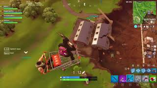 Fortnite shopping cart launch glitch
