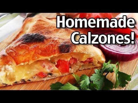 how to make homemade calzones