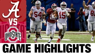 #1 Alabama vs #4 Ohio State | 2014 Sugar Bowl Highlights | 2010's Games of the Decade