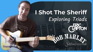 I Shot The Sheriff - Marley / Clapton #2of2 (Songs Guitar Lesson ST-613) How to play