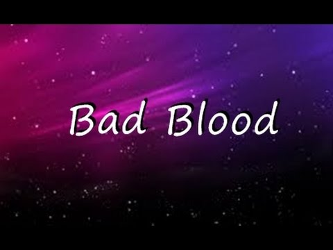 Bad Blood - Taylor Swift  ( Lyrics ) Mp3
