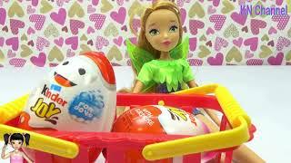 ChiChi ToysReview TV - Trò Chơi bóc trứng chocolate tìm quà bất ngờ
