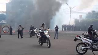Enfrentamientos Las Vegas de Táriba, Táchira.