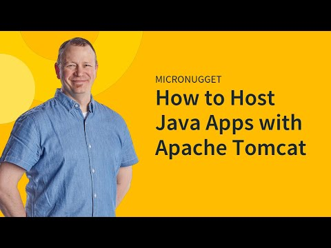 Hosting Java Apps with Apache Tomcat