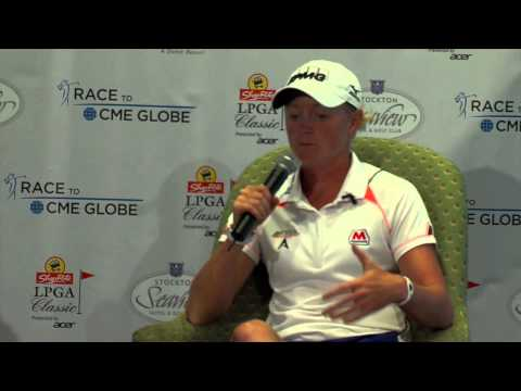 Stacy Lewis' Winner's Interview at the 2014 ShopRite LPGA Classic Presented by Acer