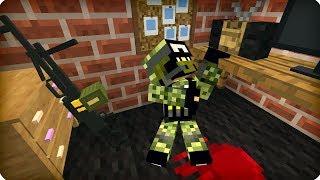 Он держался до последнего [ЧАСТЬ 14] Зомби апокалипсис в майнкрафт! - (Minecraft - Сериал)