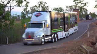 Supercars Convoy Darwin 2018