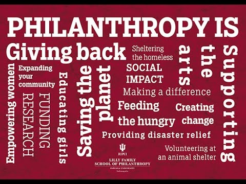Philanthropy Is...