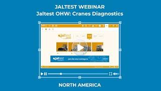 JALTEST WEBINAR | Cranes Diagnostics with Jaltest OHW